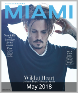 Modern Luxury Miami Magazine May 2018