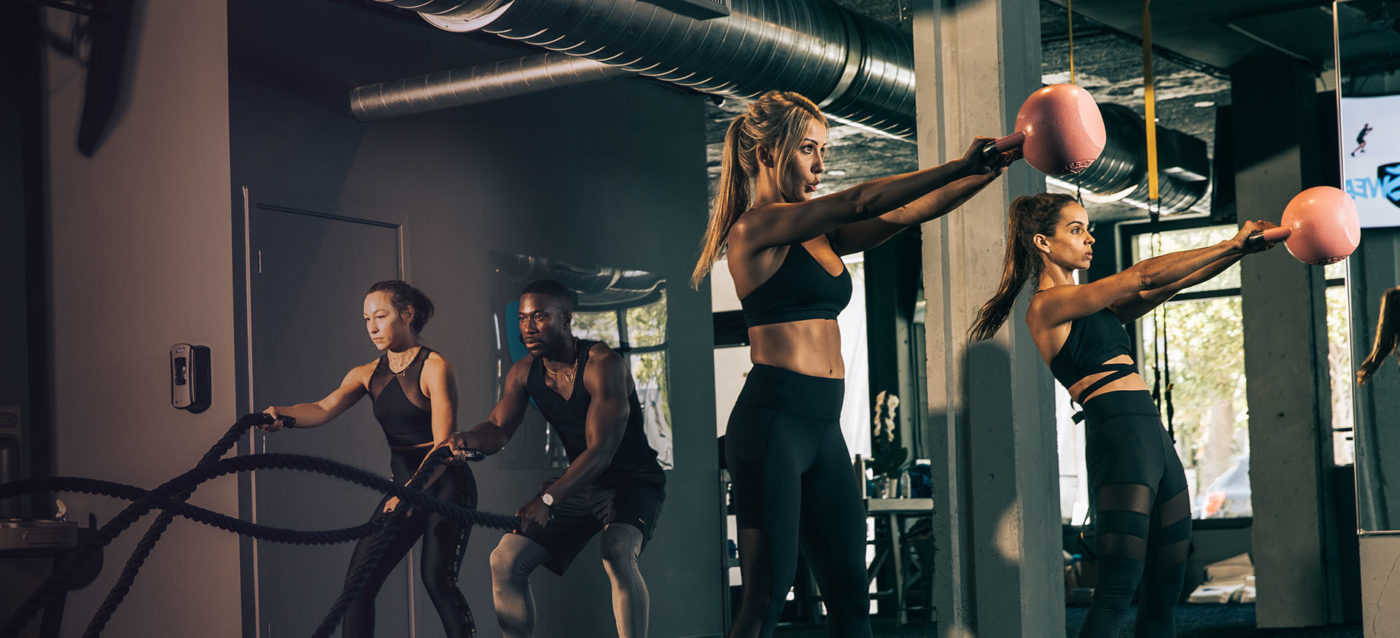 "Free fitness classes have always been a great way to decide if you like a gym. Now they're extra important when searching for a ""COVID safe gym near me in Doral."""